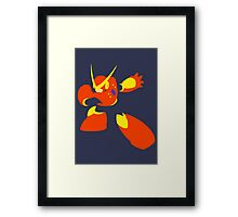 Quick Man Framed Print