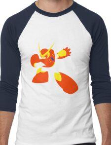 Quick Man Men's Baseball ¾ T-Shirt