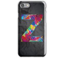Fun Letter - Z iPhone Case/Skin