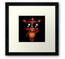 FNaF 2 - Chibi Toy Freddy Fazbear (Variant Version) Framed Print