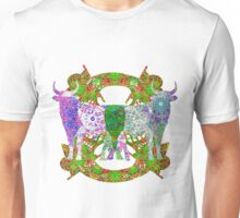 Bull With Mechanical Nose Unisex T-Shirt