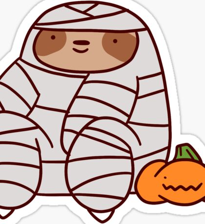 Mummy Sloth Sticker