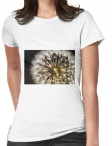 Dandelion Seedhead - close up Womens Fitted T-Shirt