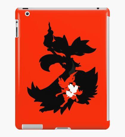 Fennekin - Braixen - Delphox ( Evolution Line ) iPad Case/Skin
