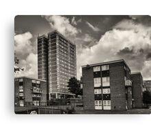Leeds Flats Canvas Print