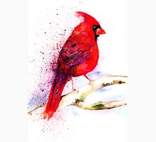 Red Cardinal Womens Fitted T-Shirt