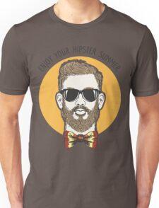 Hipster Summer Emblem Unisex T-Shirt