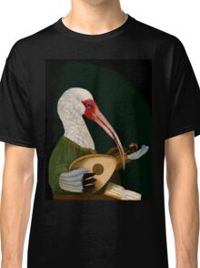 Lute-Playing Ibis - Anthropomorphic Art Classic T-Shirt