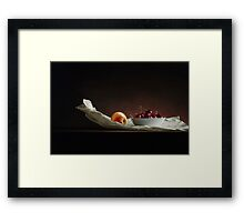 Fruits Of Fortune Framed Print