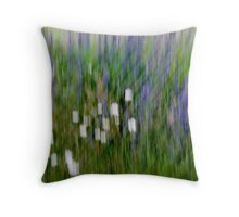 Caged Beauty Throw Pillow