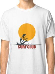 Surf club emblem Classic T-Shirt
