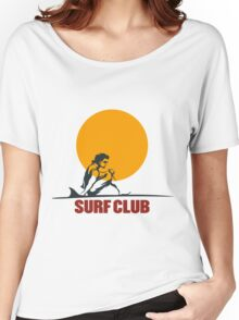Surf club emblem Women's Relaxed Fit T-Shirt