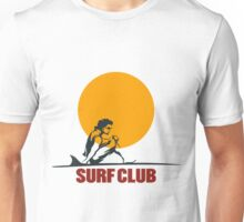 Surf club emblem Unisex T-Shirt