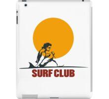 Surf club emblem iPad Case/Skin