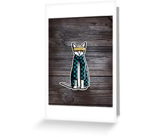 Gato Cholo - Cat with Attitude Greeting Card