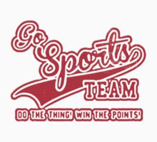 Go Sports Team! Kids Clothes
