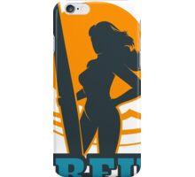 Surfing Colorful Emblem iPhone Case/Skin