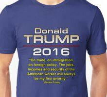 TRUMP 1ST PRIORITY Unisex T-Shirt