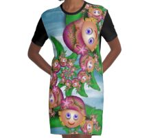 Inner Child - The Ladies Who Lunch Graphic T-Shirt Dress