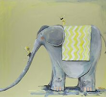 I wish I had an Elephant (commissioned work) by Sara Riches