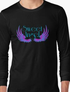 Sweet Angel with Wings Long Sleeve T-Shirt