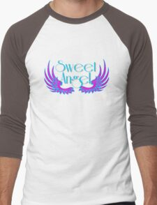 Sweet Angel with Wings Men's Baseball ¾ T-Shirt