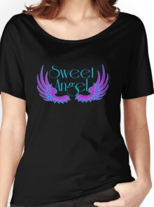 Sweet Angel with Wings Women's Relaxed Fit T-Shirt