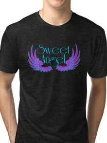 Sweet Angel with Wings Tri-blend T-Shirt