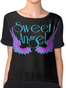 Sweet Angel with Wings Chiffon Top