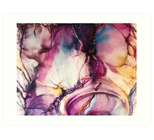 Purple Passion Art Print