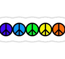 Peace Chakras Sticker