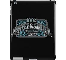 100% Coffee And Sarcasm iPad Case/Skin