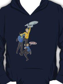 Boldly Go - Star Trek Triumvirate T-Shirt