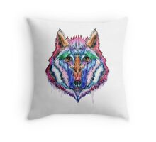 The Wylde Wolf Throw Pillow