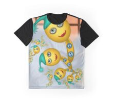 Inner Child - Bananas Outside in the Snow Graphic T-Shirt