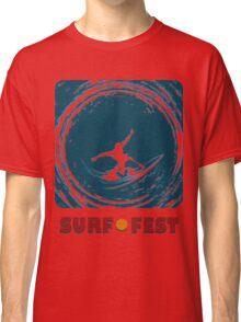Surf Fest Emblem Classic T-Shirt