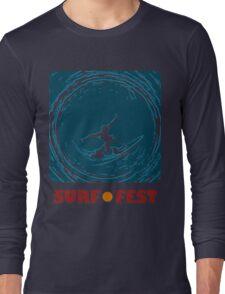 Surf Fest Emblem Long Sleeve T-Shirt