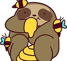 Honey Sloth by SaradaBoru