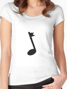 Note Women's Fitted Scoop T-Shirt