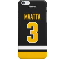 Pittsburgh Penguins Olli Maatta Jersey Back Phone Case iPhone Case/Skin