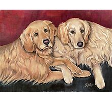 Sophie and Phoebe Photographic Print