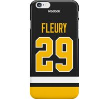 Pittsburgh Penguins Marc-Andre Fleury Jersey Back Phone Case iPhone Case/Skin