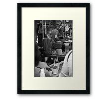 shake shake Framed Print