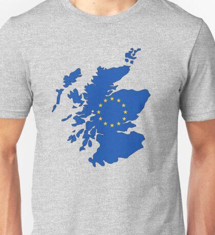 Scotland Map EU Unisex T-Shirt