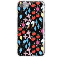 MLP Cutie Marks Pattern iPhone Case/Skin