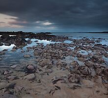 stonehaven beach sunset by codaimages