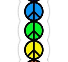 7 Chakras of Peace Sticker