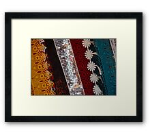 Lace  Framed Print