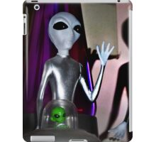 Don't shoot! We just came in to watch Ancient Aliens! iPad Case/Skin