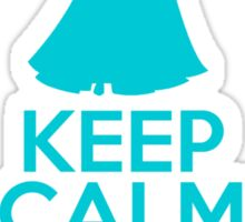 Keep Calm and Let The Storm Rage On (Elsa, Frozen) Sticker